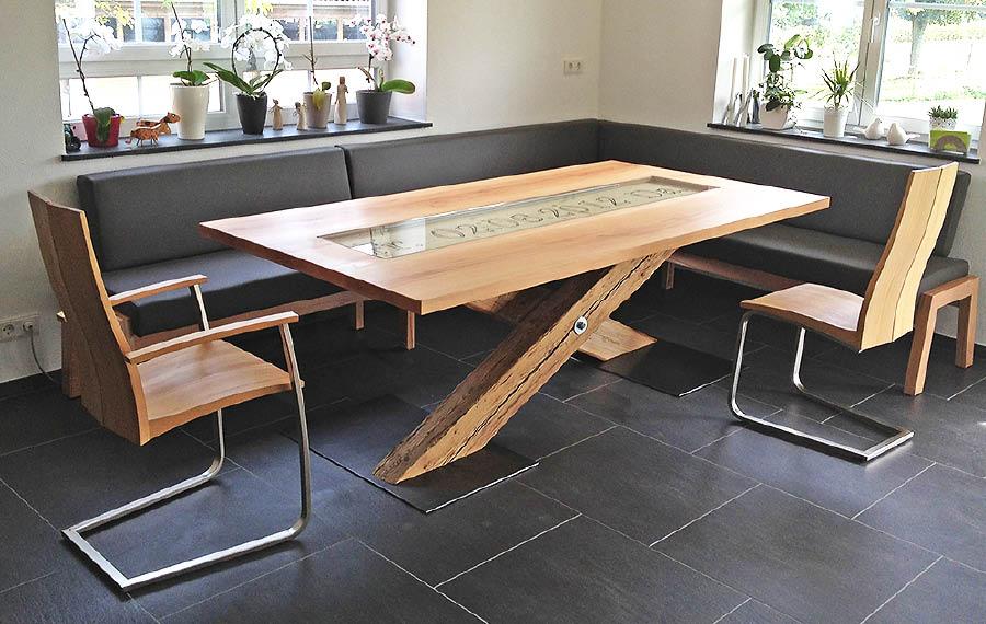 Eckbänke altholz  Essplätze | 3s-Möbel